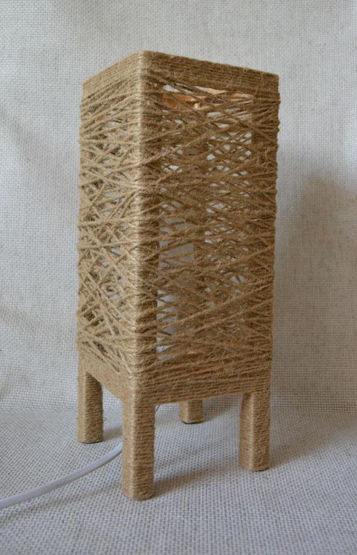 лампа льняное гнездо 3