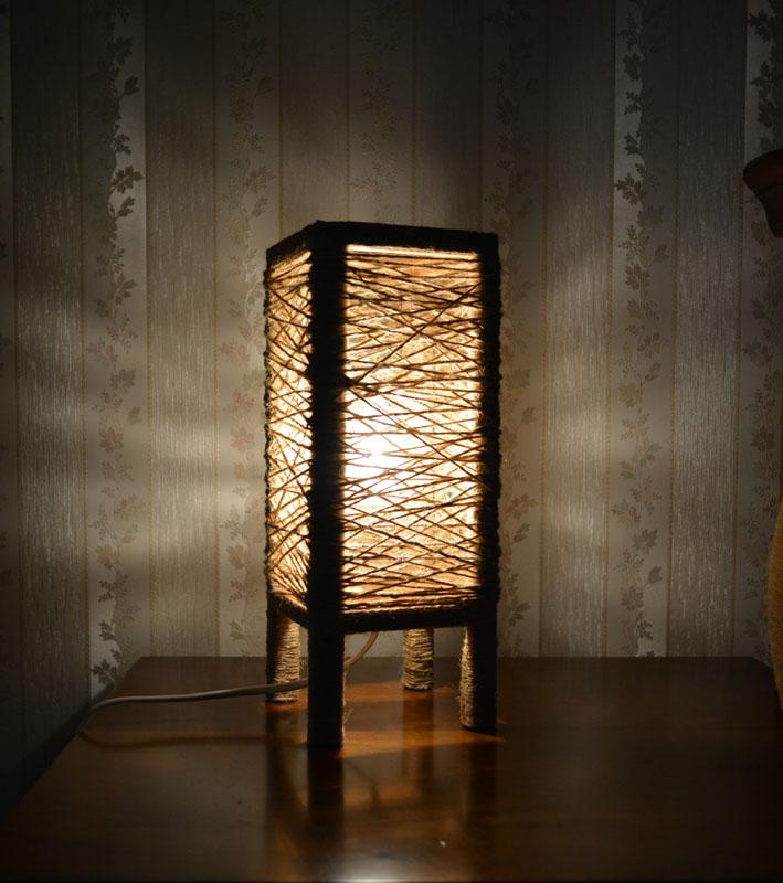лампа льняное гнездо