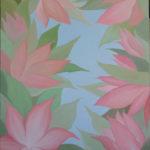 картина Окно в сад, холст, масло, 50х60 см