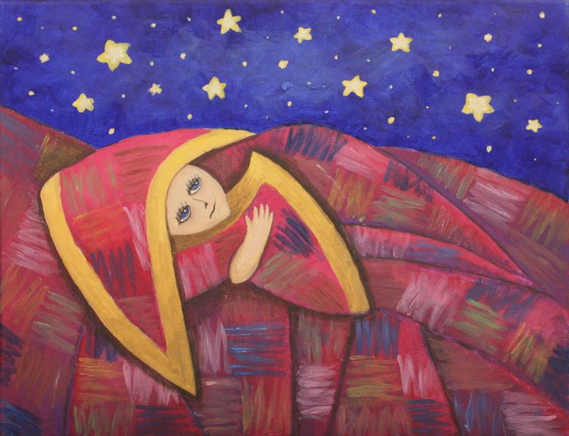 """картина """"Лоскутное одеяло снов"""""""