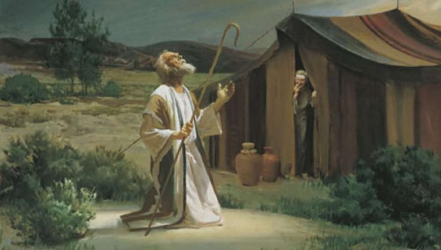 Бог является... Авраам друг Бога мысли размышления картинка