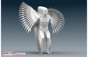 """П.Янсен скульптура """"Прыдок в длину"""""""