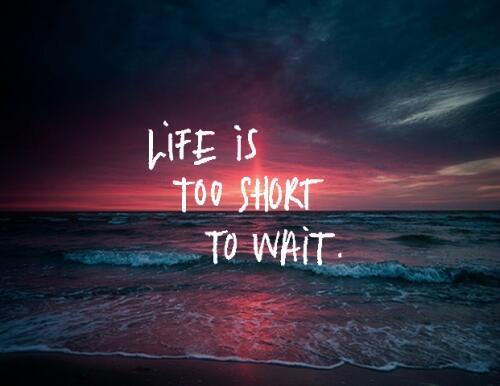 жизнь слишком коротка мысли картинка