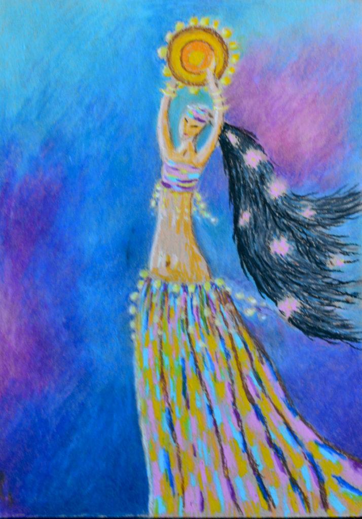 картина Танец, декоративная картина для интерьера