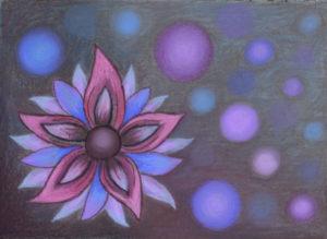 картина Цветение явление четвертое, декоративная картина для интерьера