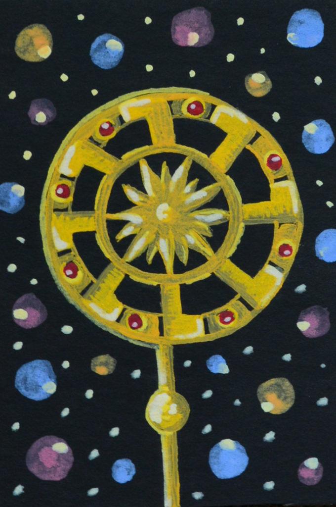 Солнце-Сердце мета-карта, метафорическая карта, интуитивная карта, психология подсознания