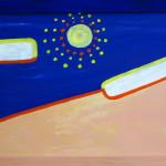 Пустыня. Картина, картон, акрил 30х40 см - Художник Мария Текун