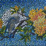 Соловьиная ночь. Картина, холст, темпера, 60х80 см, 2016 г. - Художник Мария Текун
