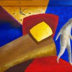 Время уходит. Картина, холст, акрил, 30х40 см - Художник Мария Текун