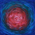 Нападение. Картина, холст, акрил, 40х40 см - Художник Мария Текун