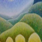 Невечерняя. Картина, холст, акрил, 60х80 см - Художник Мария Текун