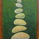 Волшебные камешки. Картина, холст, акрил, 50х60 см, - Художник Мария Текун