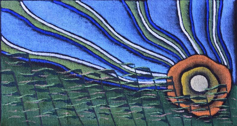 """картина """"Солнце в траве"""""""