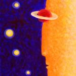 Властелин времени, Картина, холст, акрил, 30х40 см - Художник Мария Текун