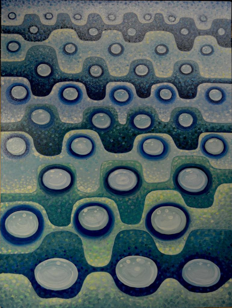 картина Вода. Холст, масло, 60х80 см, художник Мария Текун