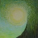 Световорот. Картина, холст, масло, 30х30 см - Художник Мария Текун