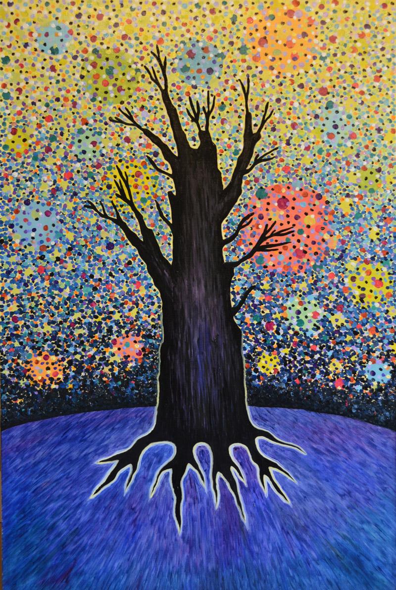 Край Земли картина, холст, масло, 60х80 см - Художник Мария Текун maryatekun.ru