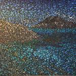 У моря. Картина, холст, темпера, 50х60 см, 2015 г. - Художник Мария Текун