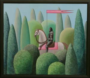 картина Поход. Холст, акрил, смешанная техника, 60х70 см