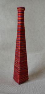 ваза пеппи длинный чулок красная