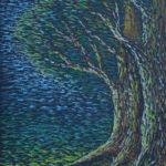Картина, картон, масляная пастель, 30х40 см, - Художник Мария Тек