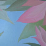 Окно в сад. Картина, холст, масло, 60Х70 см, художник Мария Текун maryatekun.ru фото 3