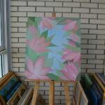 Окно в сад. Картина, холст, масло, 60Х70 см, художник Мария Текун maryatekun.ru фото 7
