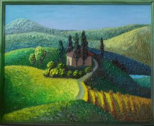 Галерея картин художник Мария Текун