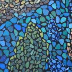 Море внутри. Картина, художник Мария Текун, картина для интерьера, продажа картин, авторская живопись, необычные картины, картина мозаика, картина-мозаика, холст, темпера фото 4