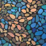 Море внутри. Картина, художник Мария Текун, картина для интерьера, продажа картин, авторская живопись, необычные картины, картина мозаика, картина-мозаика, холст, темпера фото 6