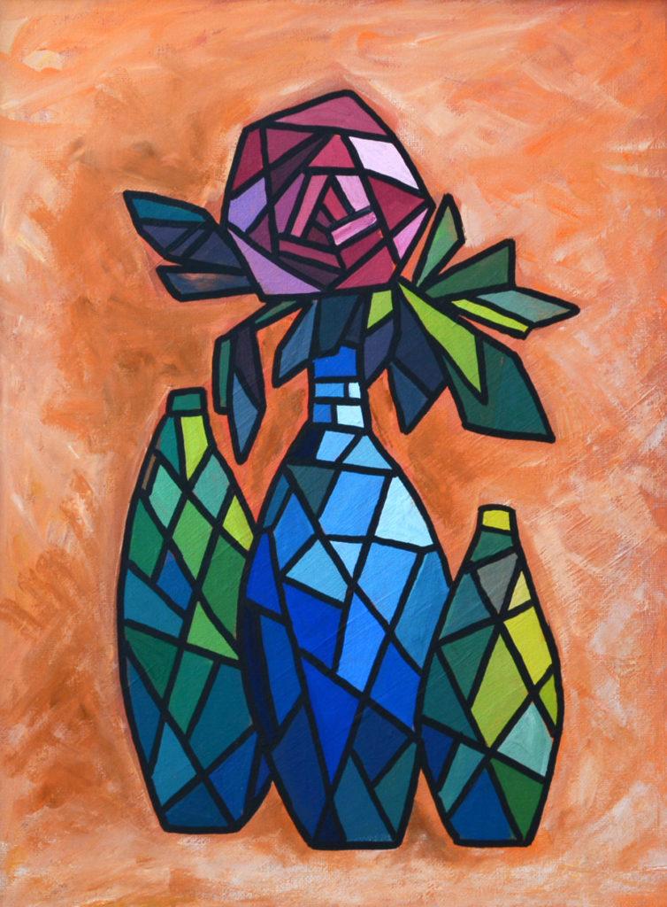 Натюрморт картина, холст, темпера, 30х40 см картина темперой на холсте, картина художника, живопись темперой, уникальная необычная картина художник Мария Текун maryatekun.ru