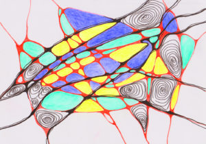 нейрографика опыт 2 картина рисунок
