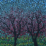 Весна идет. Картина, холст, темпера, 30х40 см, 2016 г. - Художник Мария Текун