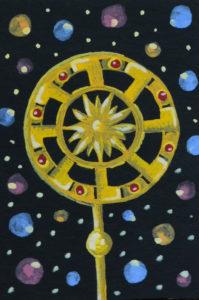 Солнце-Сердце мета-карта, метафорическая карта, интуитивная карта, психология подсознания Мария Текун maryatekun.ru