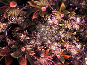 fractal-art 012 фрактал-арт, фрактальная картина 67х100 см, печать на пластике 10 мм, автор А. Лёушкин maryatekun.ru