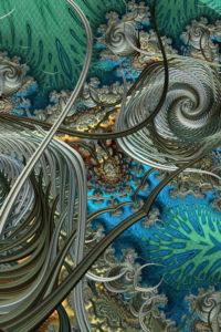 fractal-art 013 фрактал-арт, фрактальная картина 70х105 см, печать на пластике 10 мм, автор Д. Шахов maryatekun.ru
