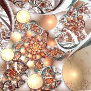fractal-art 009 фрактал-арт, фрактальная картина 120х120 см, печать на пластике 10 мм, автор Д. Шахов maryatekun.ru