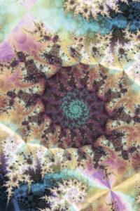 fractal-art 008 фрактал-арт, фрактальная картина 80х80 см, печать на пластике 10 мм, автор Д. Шахов maryatekun.ru