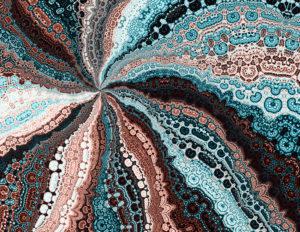 fractal-art 016 фрактал-арт, фрактальная картина 60х90 см, печать на пластике 10 мм, автор Д. Шахов maryatekun.ru