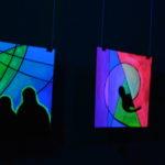 светящаяся картина флуоресцентными красками maryatekun.ru выставка картин