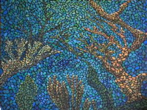картина Море внутри, художник Мария Текун авторская живопись картины для интерьера продажа картин maryatekun.ru