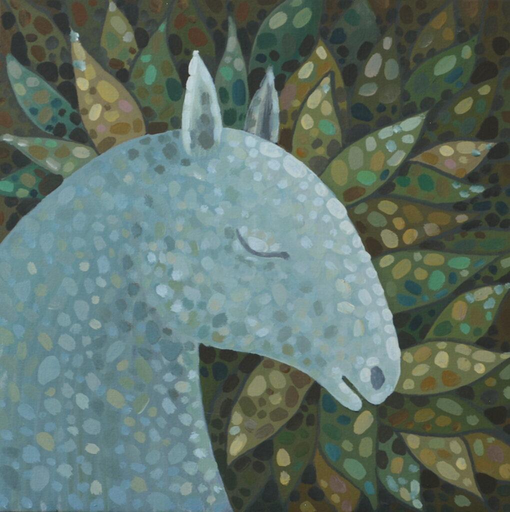 Сон жизни картина, авторская живопись, оригинал, холст, темпера, художник Мария Текун maryatekun.ru