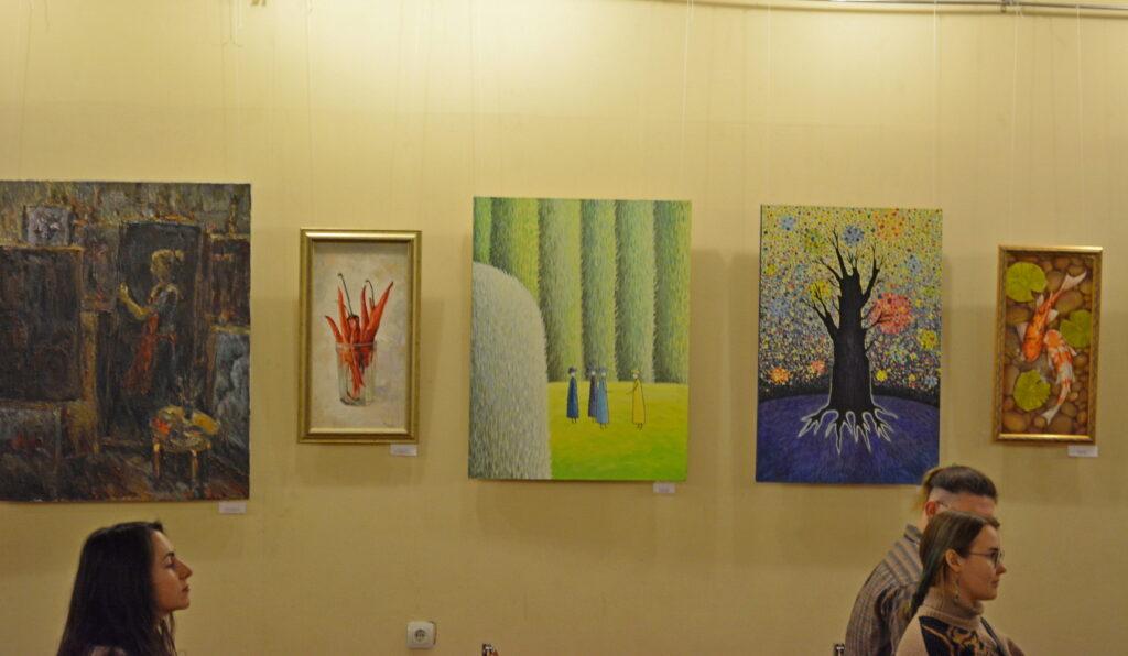 Выставка картин Мастера и Подмастерья галерея Крылатский Орнамент февраль 2020 maryatekun.ru