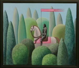 Поход. Картина, холст, акрил, смешанная техника, 60х70 см - Художник Мария Текун