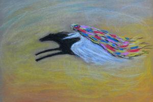 галерея картины сухая пастель