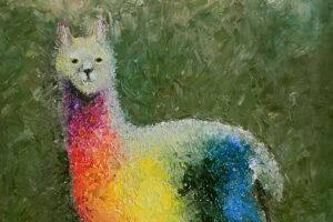 галерея радужные картины