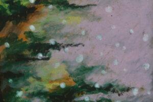 галерея рисунки масляная пастель